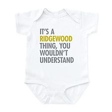 Ridgewood Queens NY Thing Infant Bodysuit
