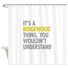 Ridgewood Queens NY Thing Shower Curtain