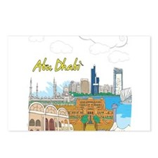 Abu Dhabi in the United Arab Emirates Postcards (P