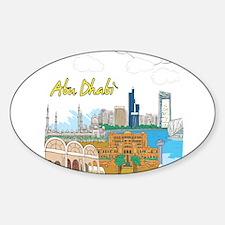 Abu Dhabi in the United Arab Emirates Decal
