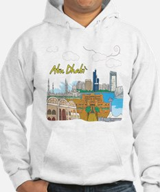 Abu Dhabi in the United Arab Emirates Hoodie