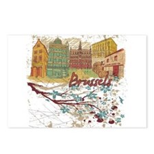 Brussels Belgium Postcards (Package of 8)