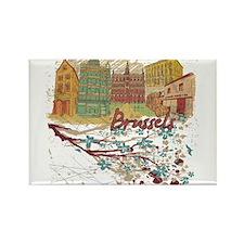 Brussels Belgium Magnets