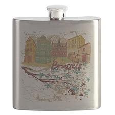 Brussels Belgium Flask