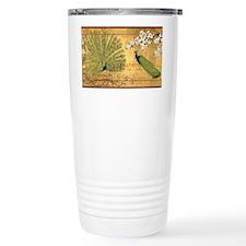 Peacock Paradise Travel Coffee Mug