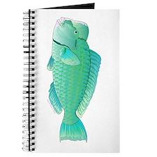 Green Humphead Bumphead Parrotfish Journal