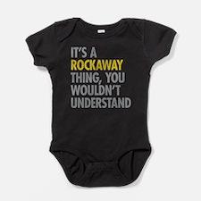 Rockaway Queens NY Thing Baby Bodysuit