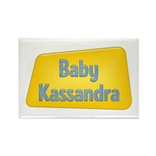 Baby Kassandra Rectangle Magnet
