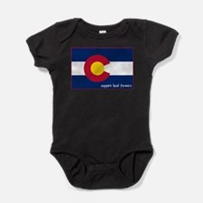 Support Local Farmers Baby Bodysuit