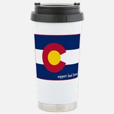 Support Local Farmers Travel Mug