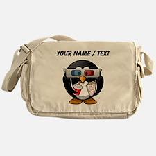 Custom Cinema Penguin Messenger Bag