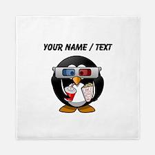 Custom Cinema Penguin Queen Duvet