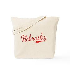Nebraska Script VINTAGE Tote Bag