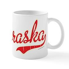 Nebraska Script VINTAGE Mug