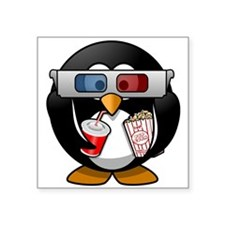 Cinema Penguin Sticker