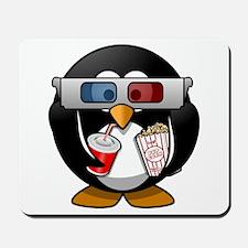 Cinema Penguin Mousepad
