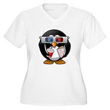 Cinema Penguin Plus Size T-Shirt