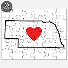 I Love Nebraska Puzzle