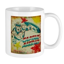 Grunge Captain America Mug