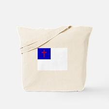 Christian Flag Tote Bag