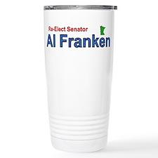 Re-Elect Al Franken Travel Mug