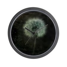 Cute Dandelion plant Wall Clock