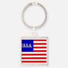 USSA Flag Keychains