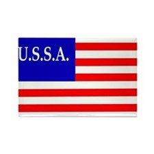 USSA Flag Magnets
