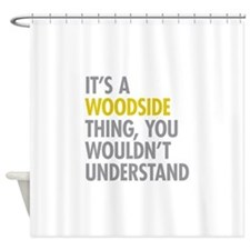 Woodside Queens NY Thing Shower Curtain