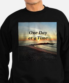 ONE DAY AT A TIME Sweatshirt (dark)