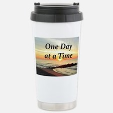 ONE DAY AT A TIME Stainless Steel Travel Mug