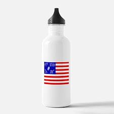 Pictish American Flag Water Bottle