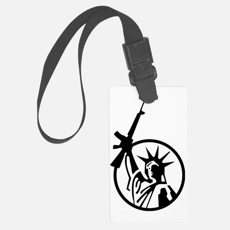 Lady Liberty AR-15 Luggage Tag