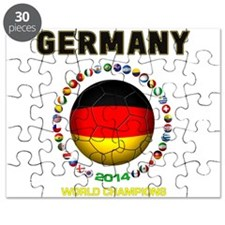 Germany World Champions 2014 Puzzle