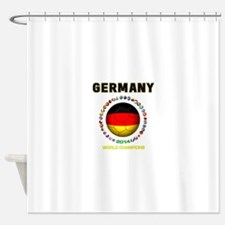 Germany World Champions 2014 Shower Curtain