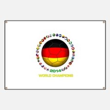 Germany World Champions 2014 Banner