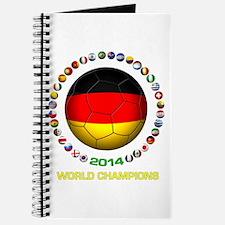 Germany World Champions 2014 Journal