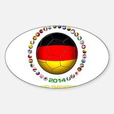 Deutschland Weltmeister 2014 Decal