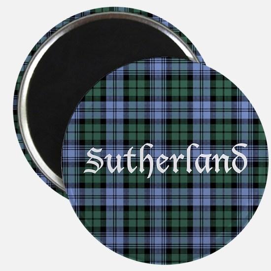 Tartan - Sutherland dist. Magnet