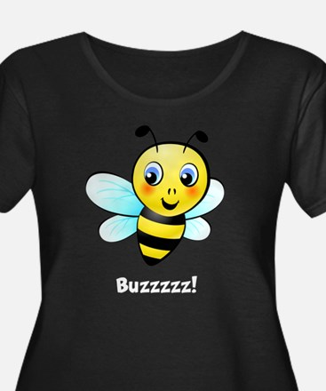 Cute Bee Plus Size T-Shirt