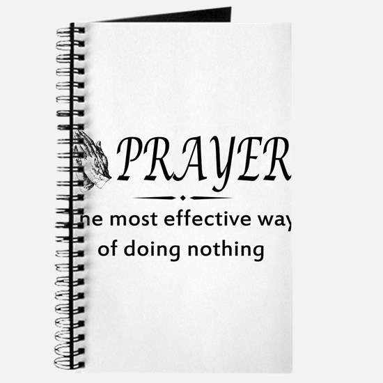 Prayer effective way of doing nothing Journal