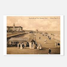 Asbury Park NJ Postcards (Package of 8)