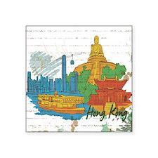 Hong Kong China Sticker