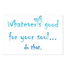 Good for your Soul Inspirational Quote Butterfly P