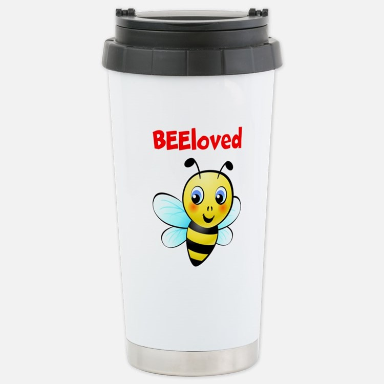Cute Bee Travel Mug