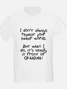 Swear words T-Shirt
