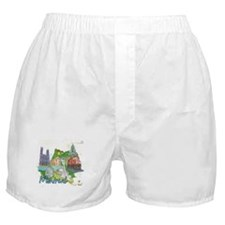 Montreal Canada Boxer Shorts