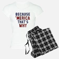 Because Merica Pajamas