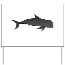 Pilot Whale Yard Sign