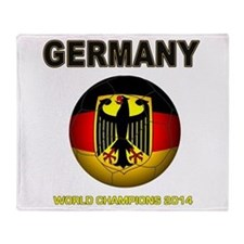 Germany World Champions 2014 Throw Blanket